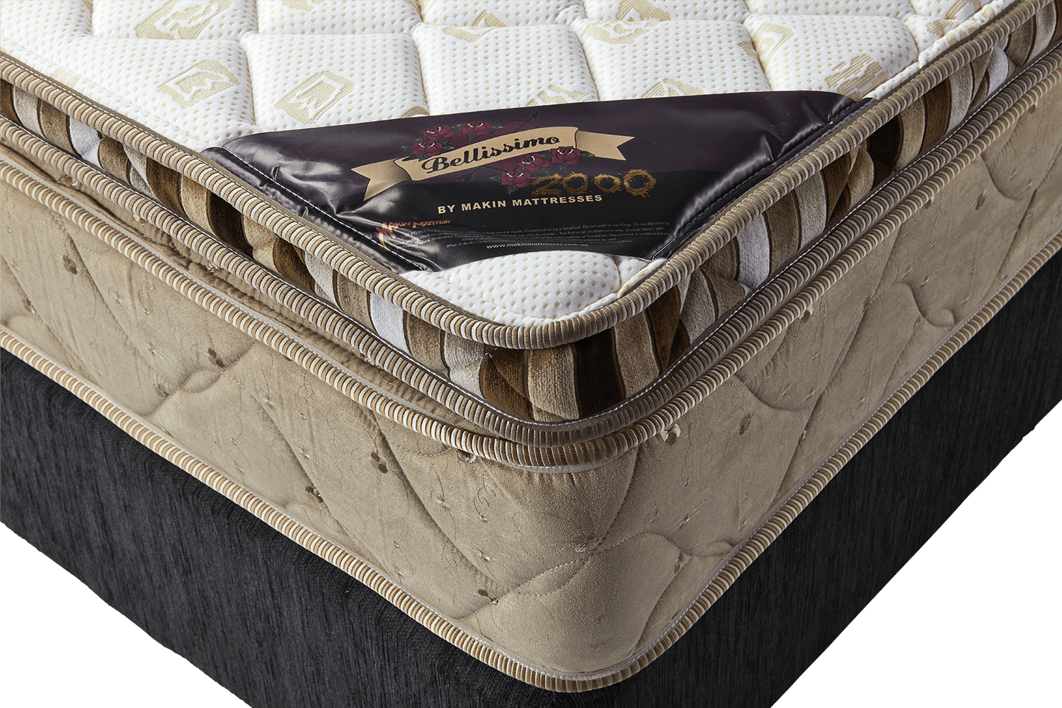 makin mattresses bellissimo 2000 mattress queen single super king double size