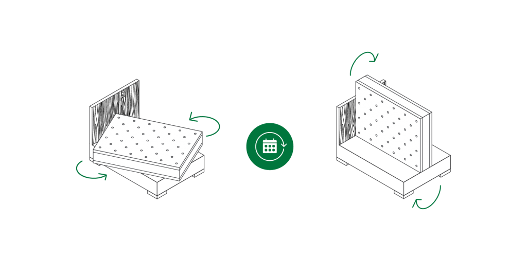 double sided mattress flip rotate makin mattresses