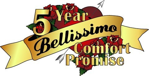 5 year comfort promise makin mattresses bellissimo