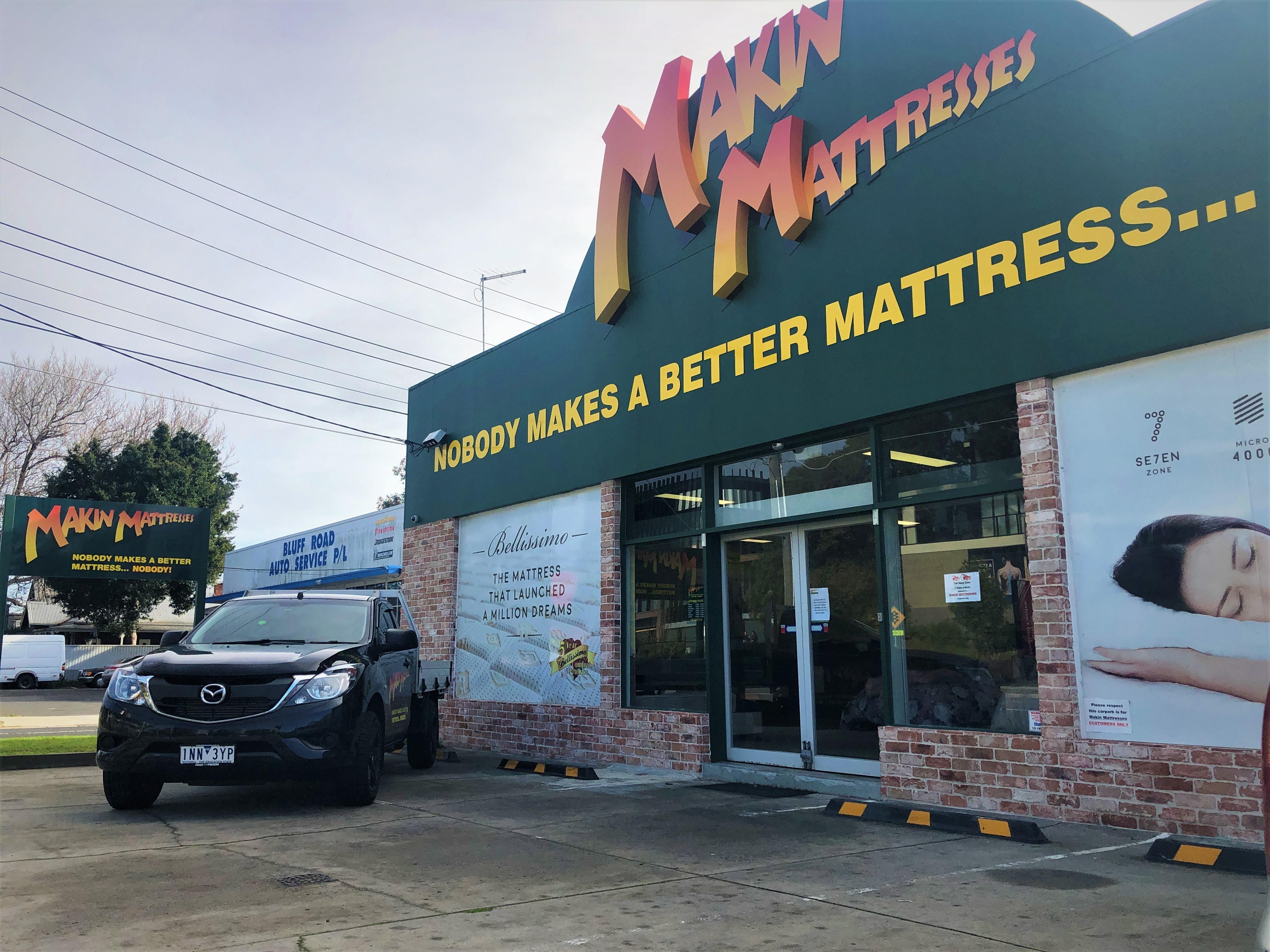 makin mattresses mattress store Melbourne